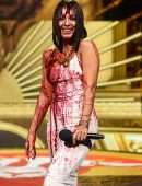 Vanessa Hudgens Cleavage and Leggy at 2020 MTV Movie & TV Awards: Greatest Of All Time in Los Angeles