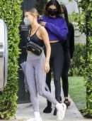 Kendall Jenner and Hailey Baldwin, Out in Los Angeles