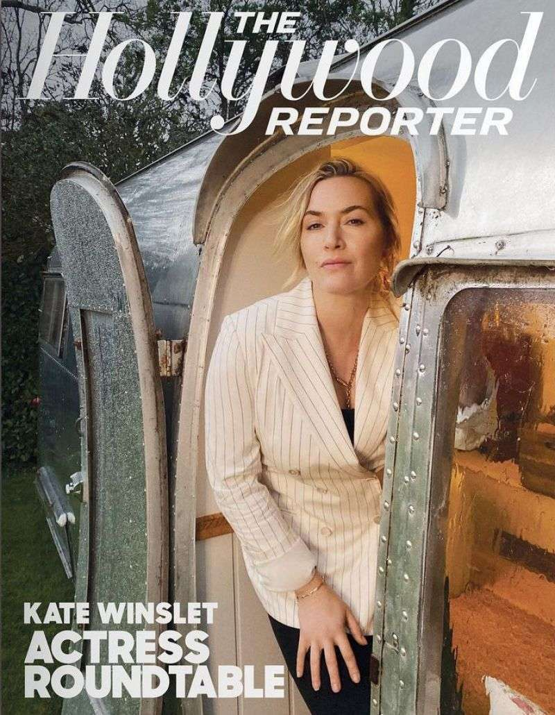 Kate Winslet in The Hollywood Reporter - March 2021
