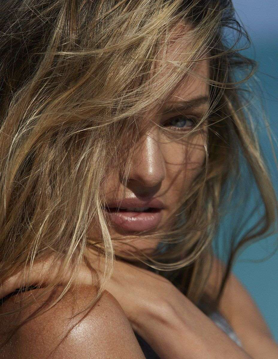 Candice Swanepoel in a Madame Figaro Magazine Topless Photoshoot Outtakes
